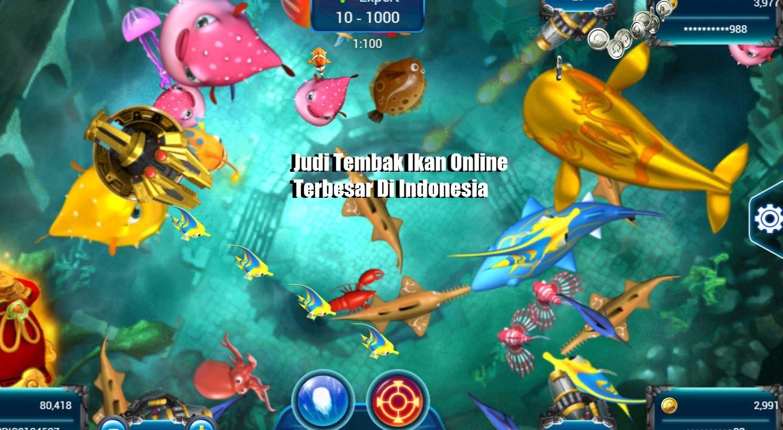 Judi Tembak Ikan Online Terbesar Di Indonesia